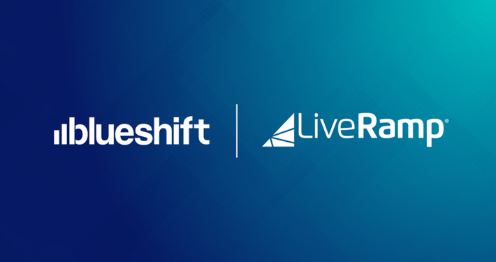 Blueshift and LiveRamp logos